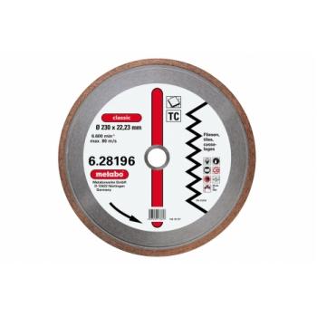 Алмазний отрезной круг METABO для плитки (628195000)